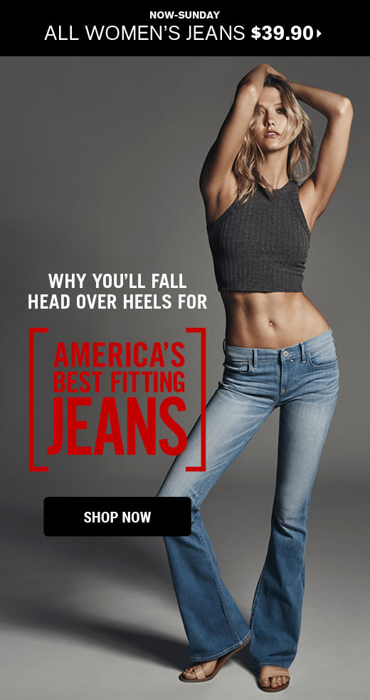 $39.9 All Women's Jeans + $49.9 All Men's Jeans @ express