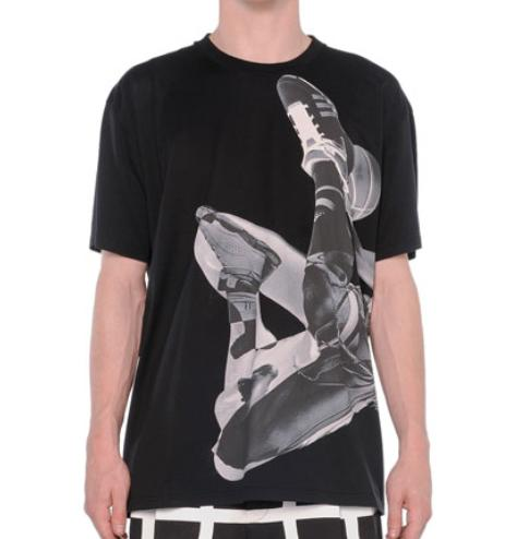Givenchy Basketball-Player Printed Tee, Black @ Bergdorf Goodman