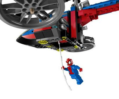 $35.33 LEGO Superheroes 76016 Spider-Helicopter Rescue