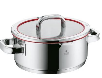 WMF Function 4 Low Casserole with Lid, 4-Quart