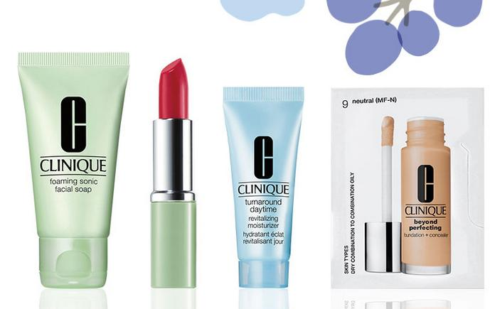 Free 4 Pieces Gift + Fee Shipping with any $35 purchase @ Clinique