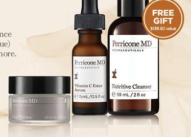 Free 3 pieces Radiance Deluxe Travel Gift with $200 Purchase @ Perricone MD