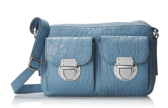 Fossil Riley Top-Zip Cross-Body Bag