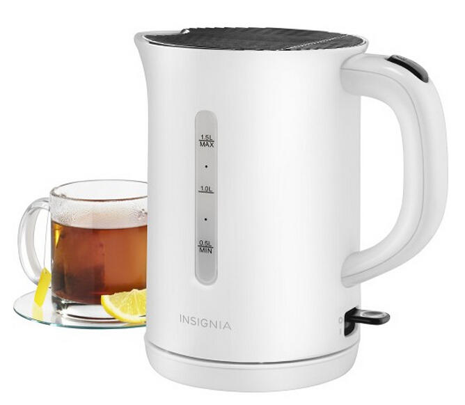 Insignia™ - 1.5L Electric Kettle