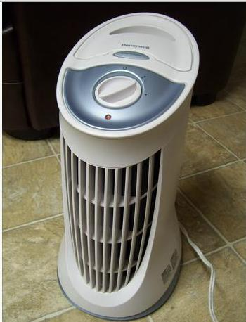Honeywell QuietClean Compact Tower Air Purifier with Permanent Filter,