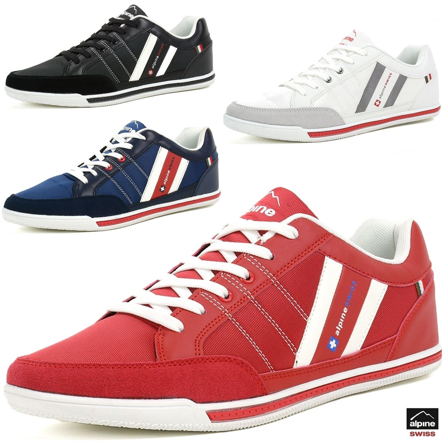 AlpineSwiss Stefan Mens Retro Fashion Sneakers Tennis Shoes Casual Athletic Shoe