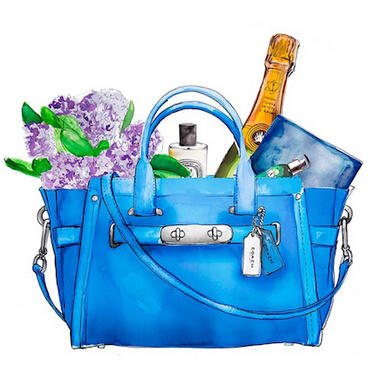 $346.5 Coach Swagger Satchel