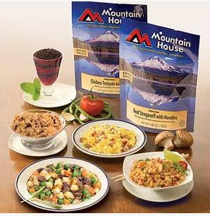 Up to 50% Off Select Mountain House Freeze-Dried Food @ Amazon.com