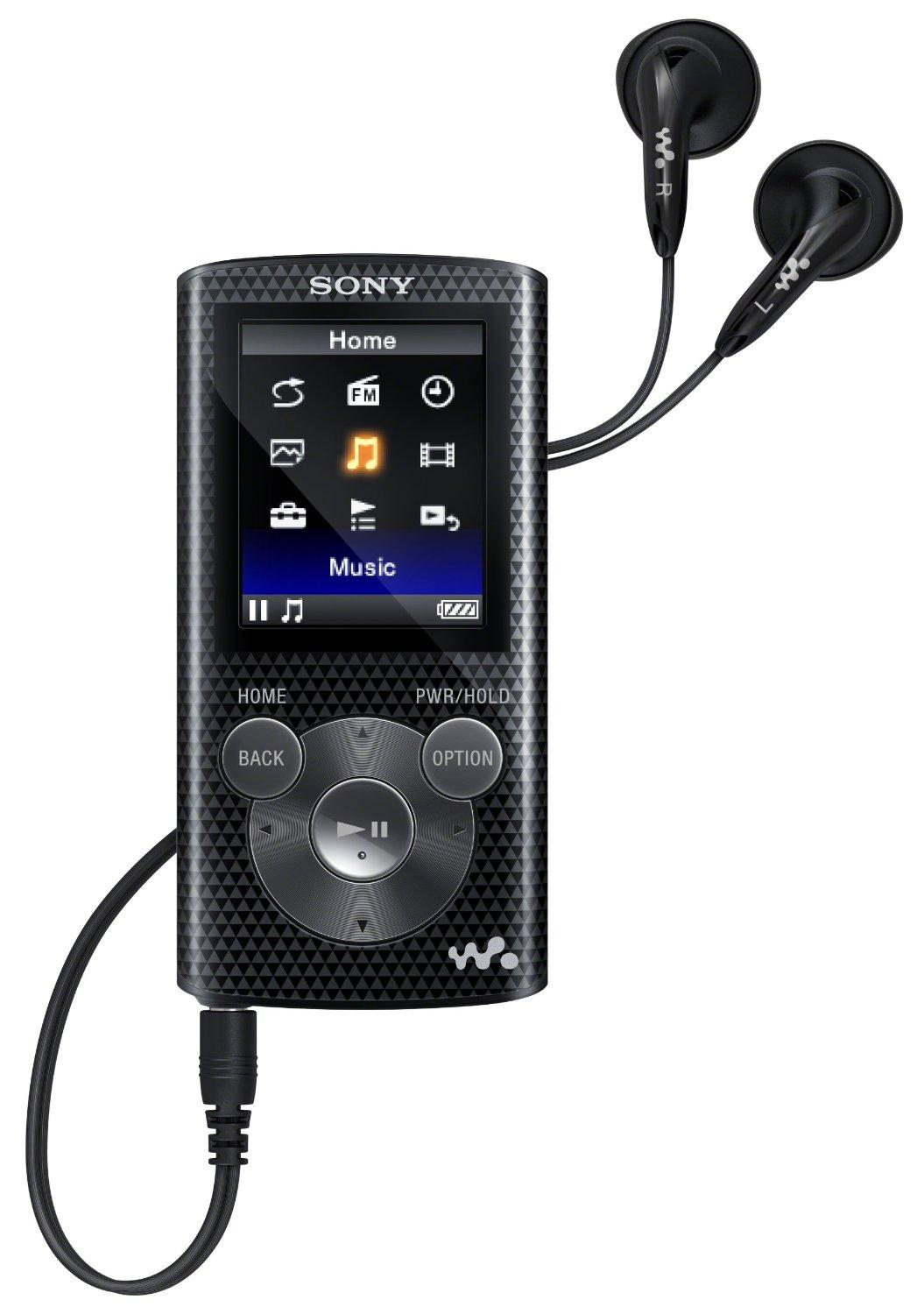 Sony NWZE383 4 GB Walkman MP3 Video Player