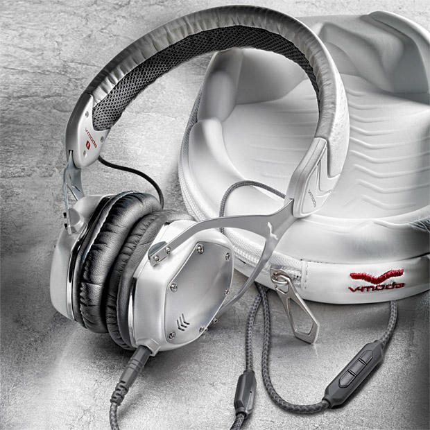 V-MODA Crossfade M-80 Vocal On-Ear Noise-Isolating Metal Headphone