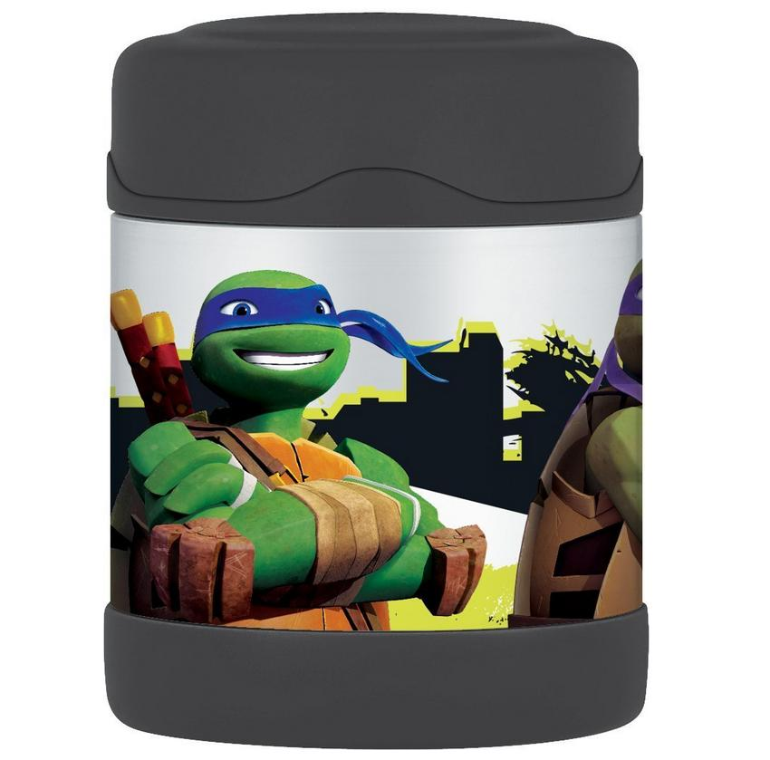 Thermos 10 Ounce Funtainer Food Jar,Teenage Mutant Ninja Turtles