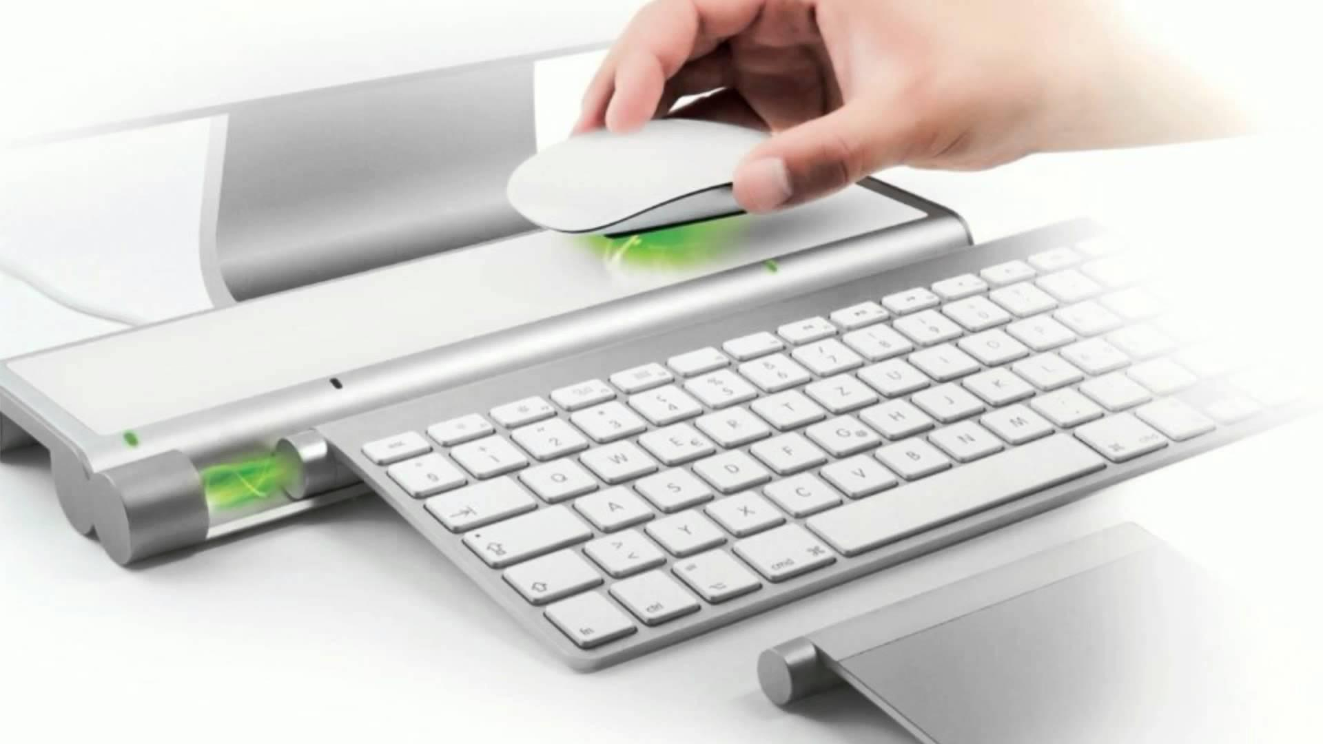 Mobee Technology Magic Bar - Inductive Charger for Apple Bluetooth Keyboard and Magic Trackpad