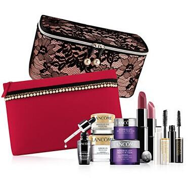 LANCÔME Exclusive 7-Piece Gift and Free Shipping with Any Lancome Purchase of $39.50 or More @ Lord & Taylor
