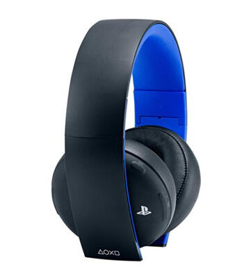 $60 Sony PlayStation Gold Wireless Stereo Headset for PS4