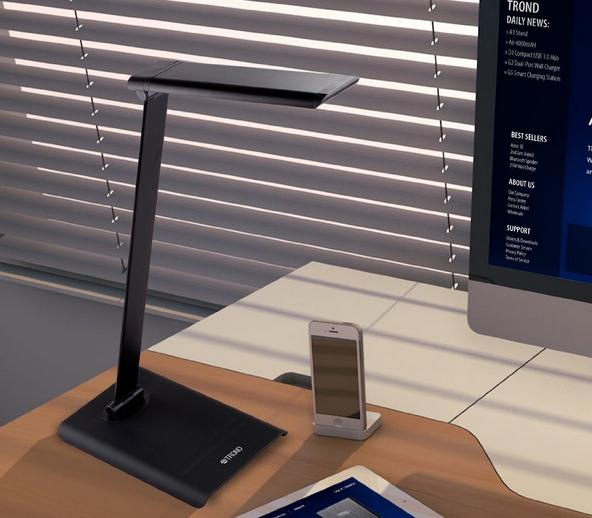 $29.99 [2015 Model] TROND Halo Dimmable Eye-Care LED Desk Lamp