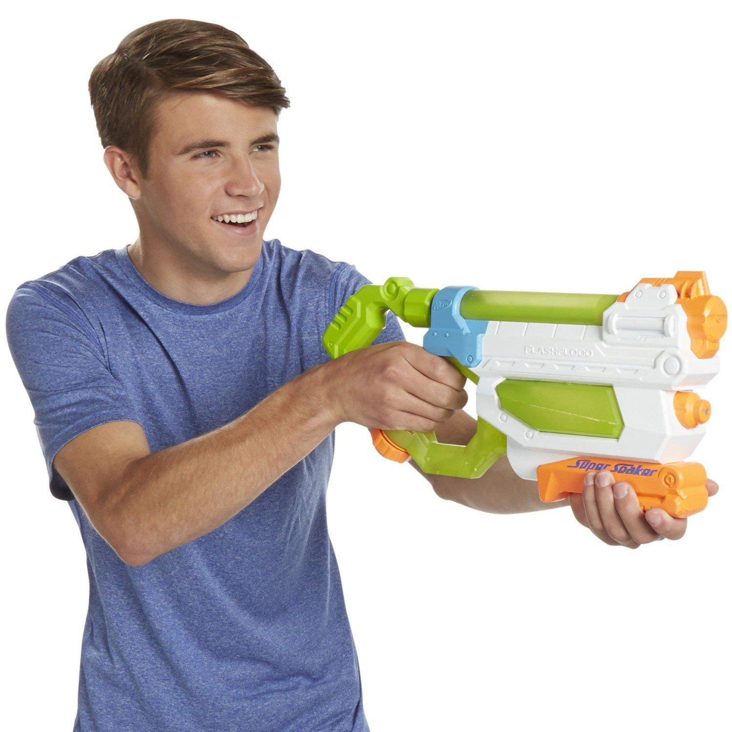 $3.88 Nerf Super Soaker FlashFlood Blaster