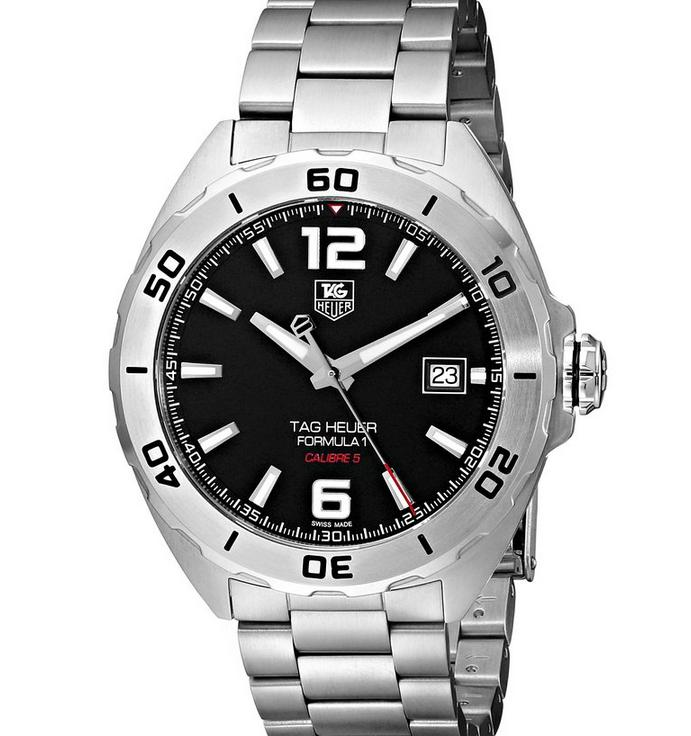 $1029 TAG Heuer Men's Stainless Steel Automatic Watch