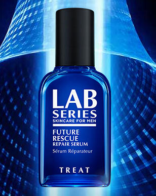 Free FUTURE RESCUE REPAIR SERUM Mini with $50+ Purchases at Lab Series For Men