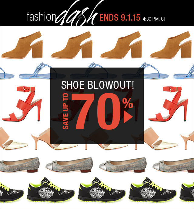 Up to 70% OFF Shoe Blowout at Fashion Dash @ LastCall by Neiman Marcus