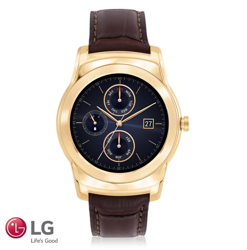 $1195 23K Gold LG Urbane Luxe Smart Watch