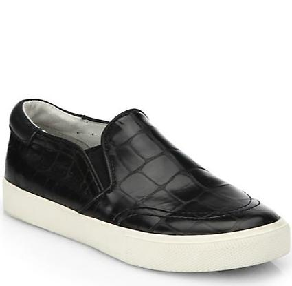 Ash Impulse Embossed-Leather Platform Skate Sneakers @ Saks Fifth Avenue