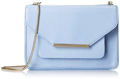 Ted Baker Isla Patent Crosshatch Cross-Body Bag