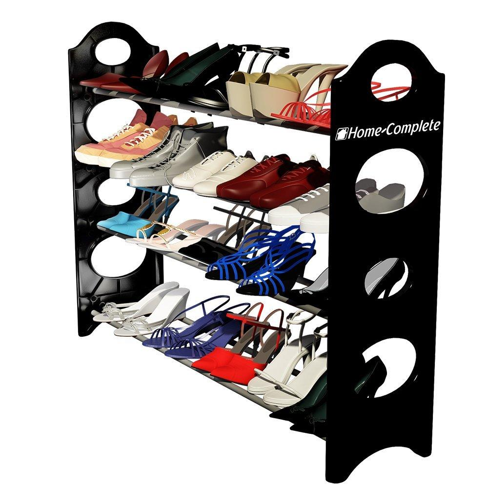 Home-Complete Best Shoe Rack Organizer Storage Bench