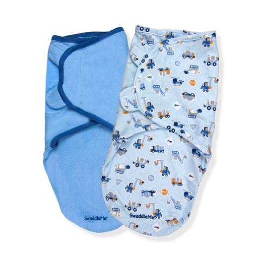 Summer Infant SwaddleMe Adjustable Infant Wrap, 2-Pack, Transportation