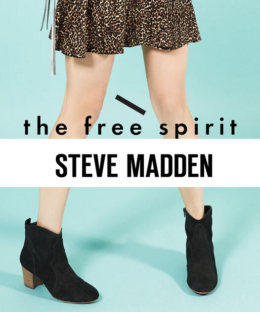 Up to 20% Off Your Purchase @ Steve Madden