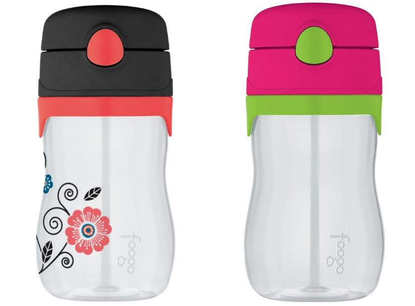 $5.79 THERMOS FOOGO 11-Ounce Straw Bottle-2Colors