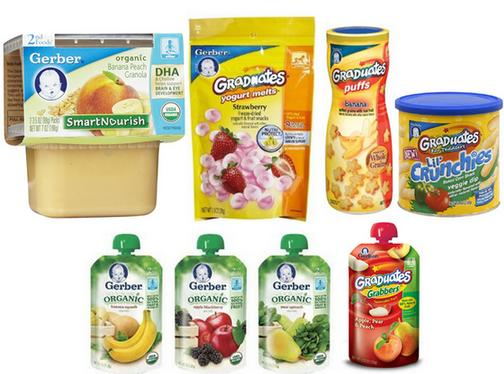 15% Off Select Gerber Baby Snack Sale @ Amazon