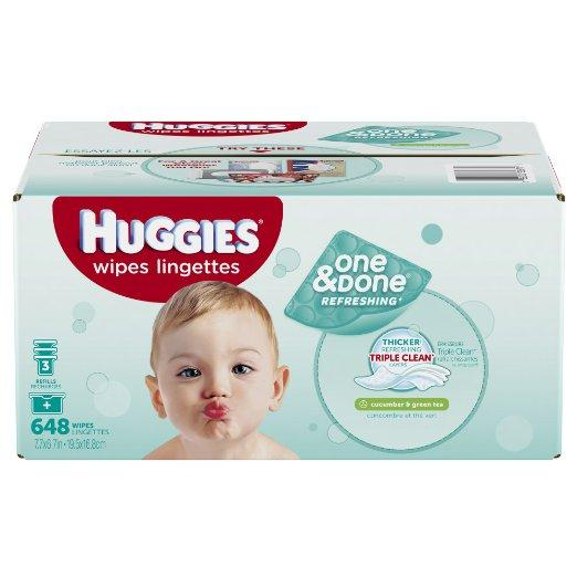Extra $2 Off Select Huggies Baby Wipes Sale @ Amazon