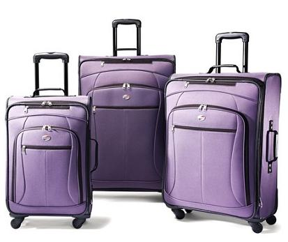$109 American Tourister AT Pop 3 Piece Spinner Luggage Set