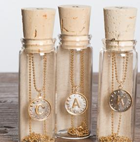 $23.4 Blee Inara 'Initial' Write Your Own Story Handmade Necklace