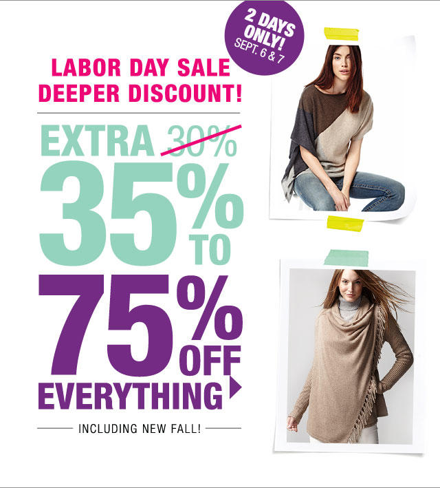 Up to Extra 75% OFF Everything @ Last Call by Neiman Marcus