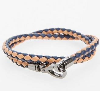 Tod's 'Scooby' Woven Leather Bracelet @ Nordstrom