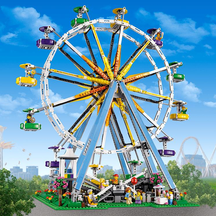 $199.95 LEGO Creator Expert 10247 Ferris Wheel Building Kit