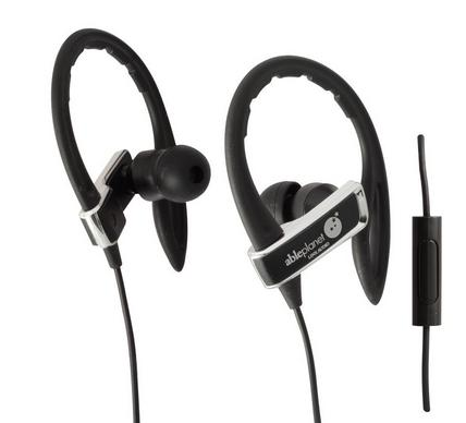 Able Planet SI350 True Fidelity Sport Earphones with Mic (Black)