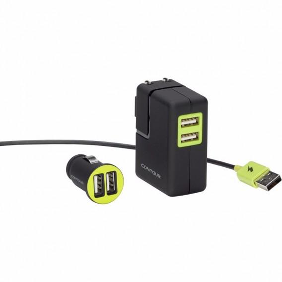 Contour Car &Home USB Charging Kit