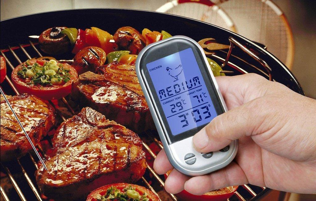 Raniaco Wireless Meat BBQ Thermometer