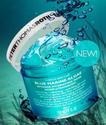 New Release! $52Peter Thomas Roth Blue Marine Algae Mask 5.0 OZ(150 ML)