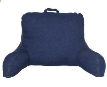 Brentwood 666 Washed Denim Backrest Pillow