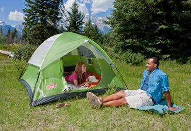 $33.33 Lightning deal! Sundome 3 Person Tent (Green and Navy color options)