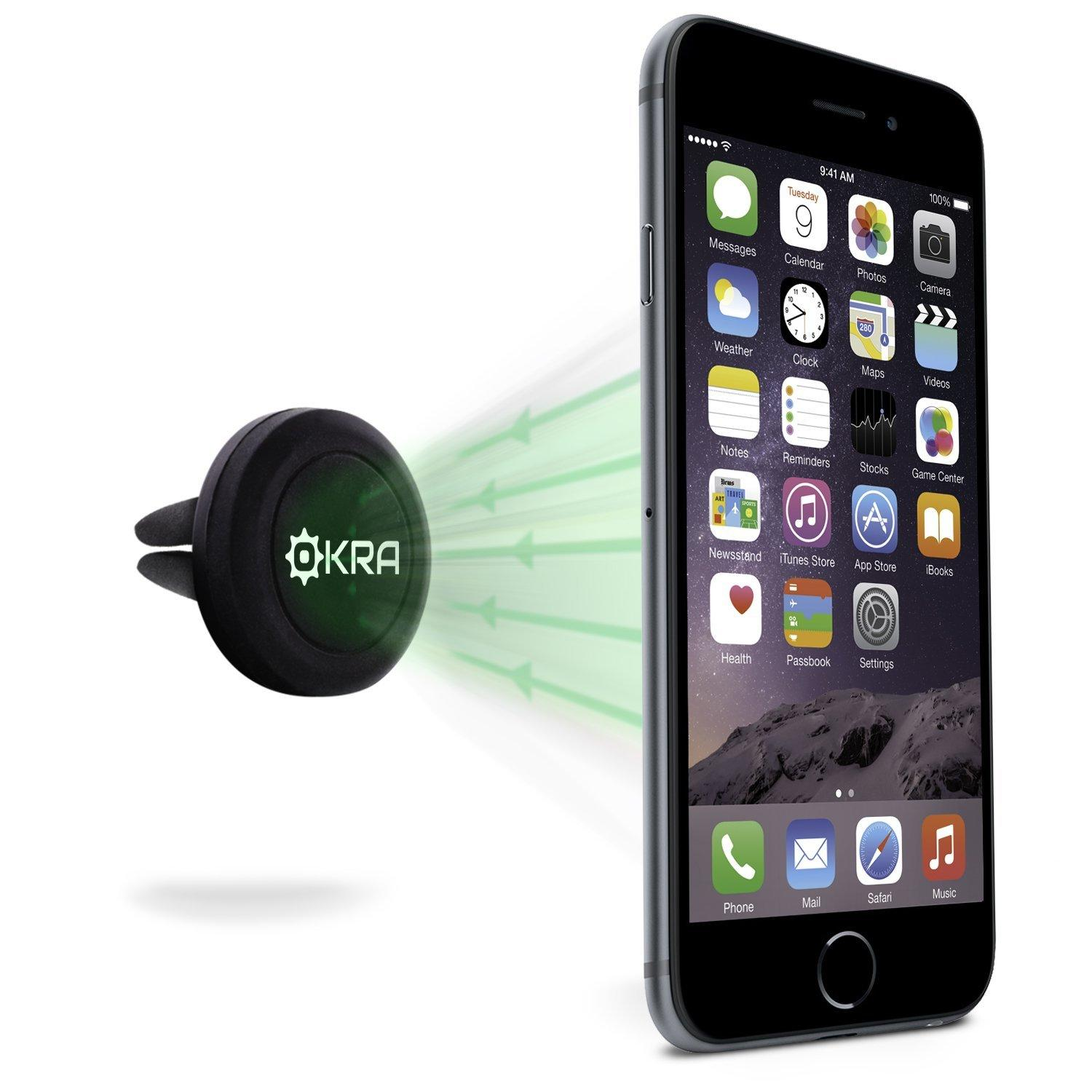 Okra Universal Powerful Magnetic Vent Car Mount