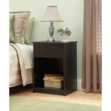 $68 + Free shipping Mainstays Nightstand/End Table, Set of 2