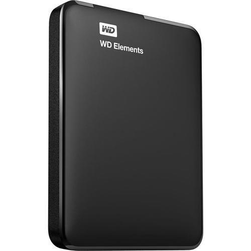 WD Elements 2TB Portable External Hard Drive, USB 3.0, USB Powered