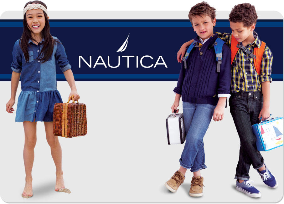 Up to 80% Off + Extra 20% Off Nautica Kids Clothing @ Macy's