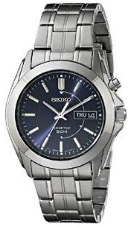 $77.89 Seiko Men's SMY111 Stainless Steel Kinetic Watch