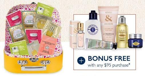 Free Gift Set with Any $35 Purchase @ L'Occitane