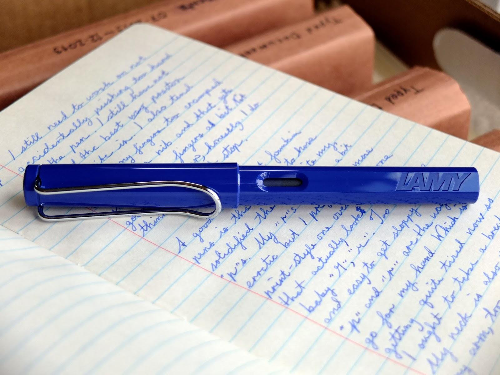 Lamy Safari Fountain Pen, Blue (L14F)